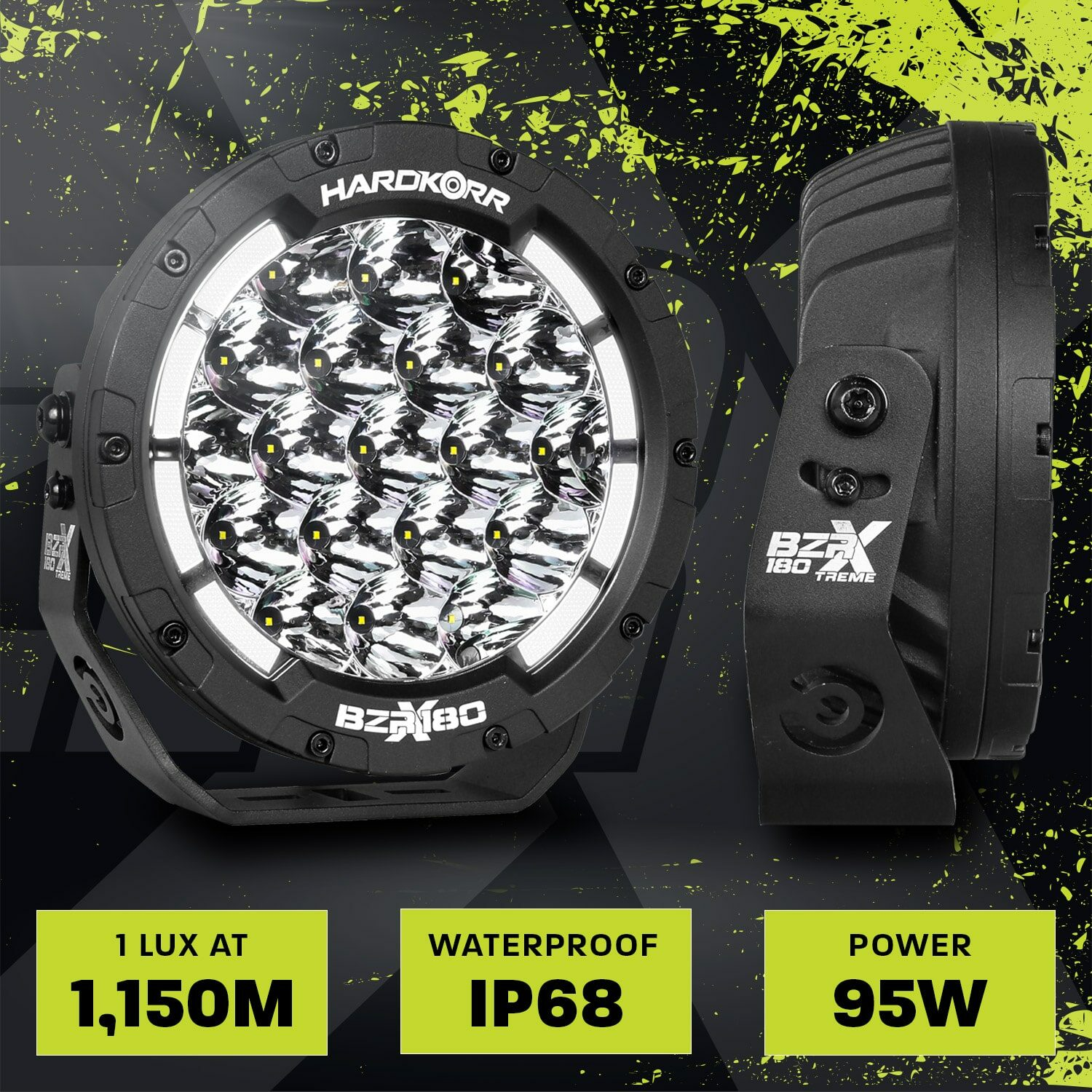 BZR-X Series 7 Inch LED Driving Lights