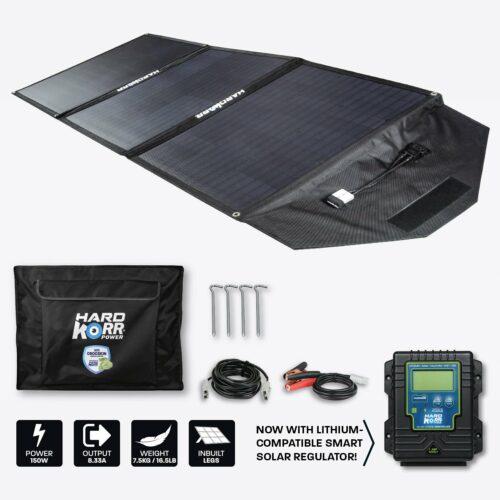 150w 12V Portable Solar Panels