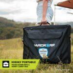 Heavy duty portable solar mat highly portable