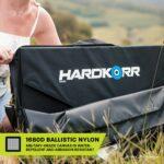 Heavy duty portable solar mat 1680D ballistic nylon