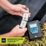 Heavy duty portable solar mat Anderson plugs