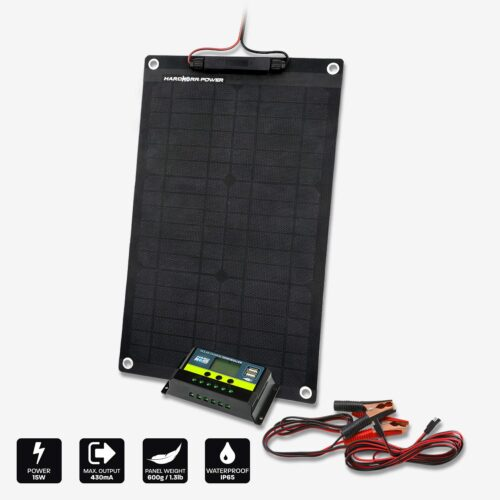 15W 24V Trickle Charger Solar Panel