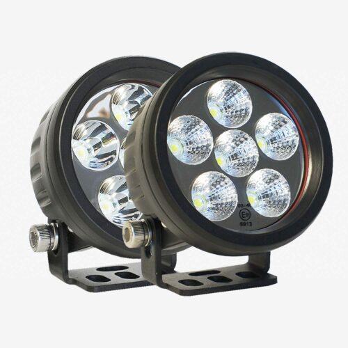Round Work Lights Bundle