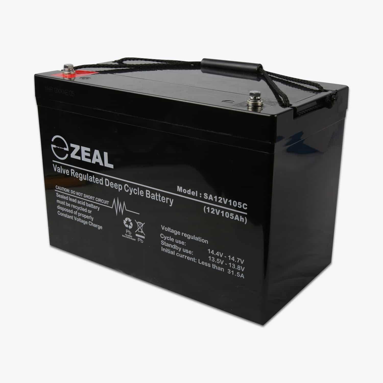 105AH Zeal AGM battery