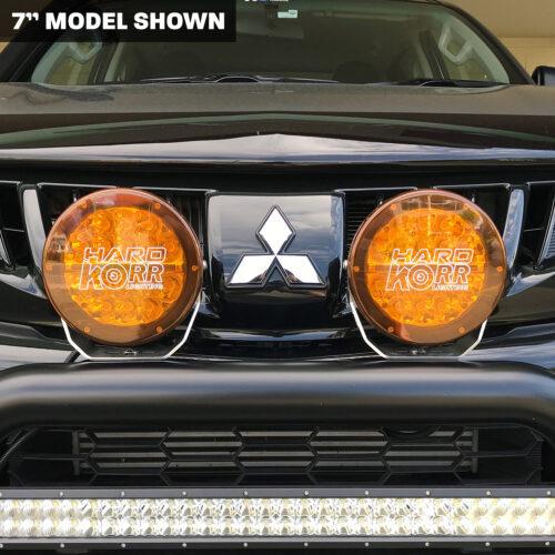 Orange Driving Light Covers