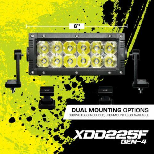 6 Inch Dual Row LED Light Bar XDD225F-G4