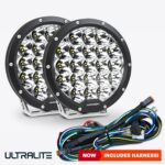 7 Inch Ultralite LED Driving Lights Pair