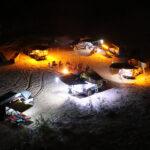 6 Bar Tri-Colour LED Camp Light Kit