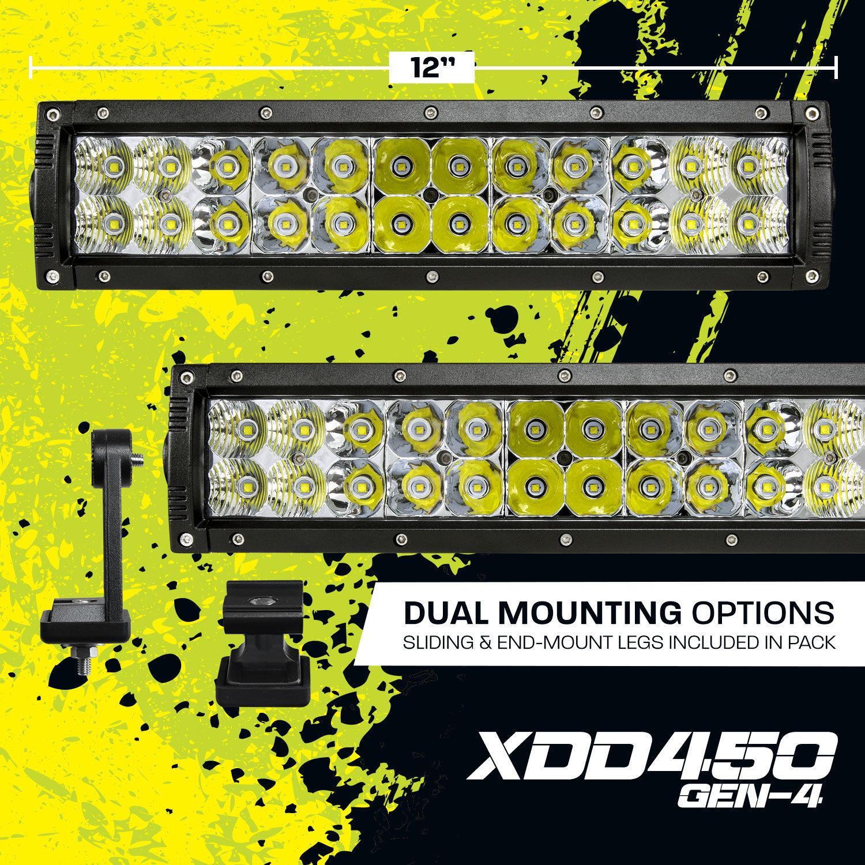 "XD-GEN4 12"" Dual Row LED Light Bar (XDD450-G4)"