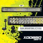 "XD-GEN4 22"" Dual Row LED Light Bar (XDD650-G4)"
