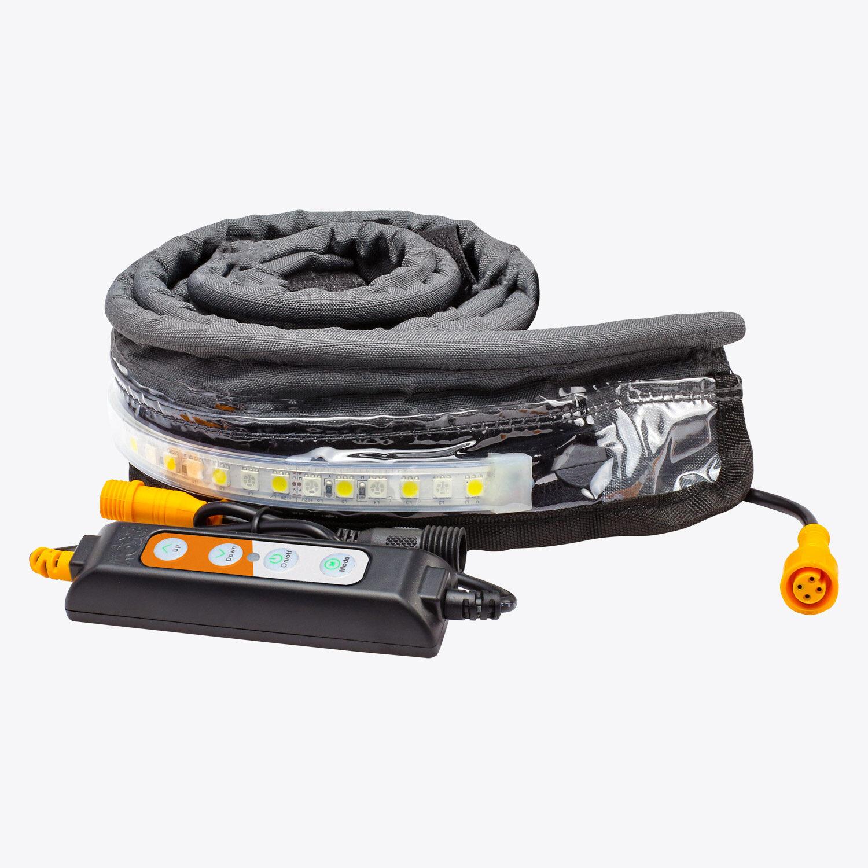 Lifestyle 1.3m Orange/White Ezy-Fit Waterproof LED Strip Light