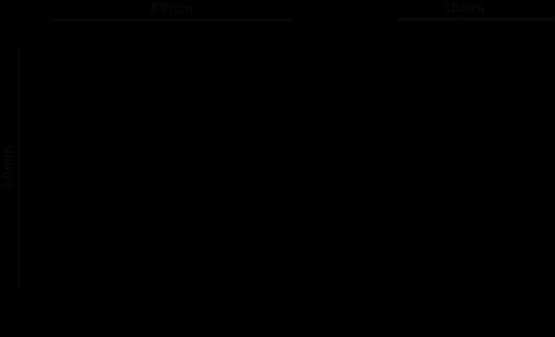 Hardkorr HKRF18 dimension diagram