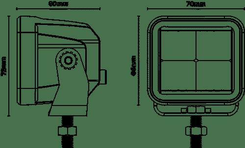 HKXDW83F dimensions
