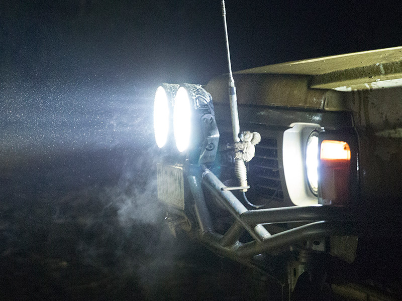 BZR-X Series LED Driving Lights are built to last in even the toughest conditions