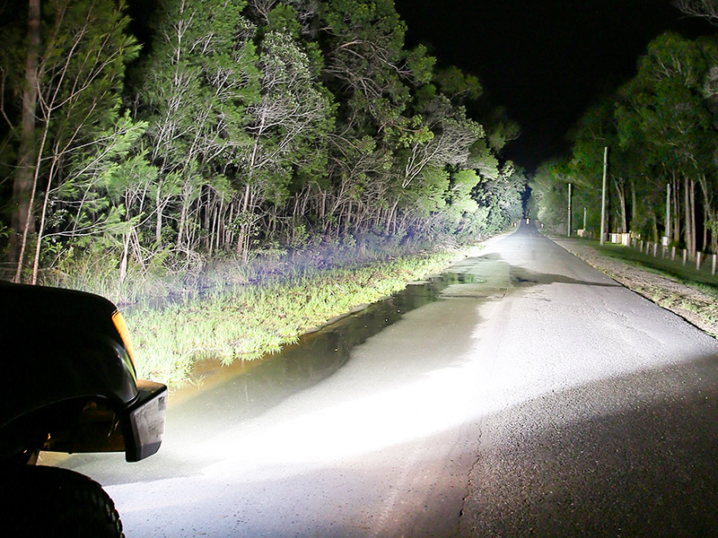 BZR-X Series LED Driving Lights have market-leading distance and flood capabilities