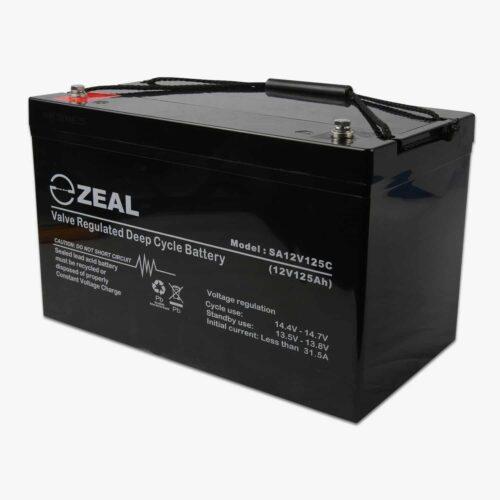 125AH Zeal AGM battery
