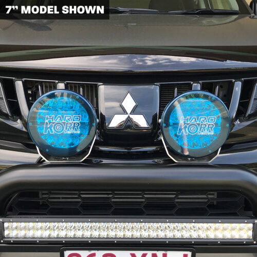 Blue Driving Light Covers