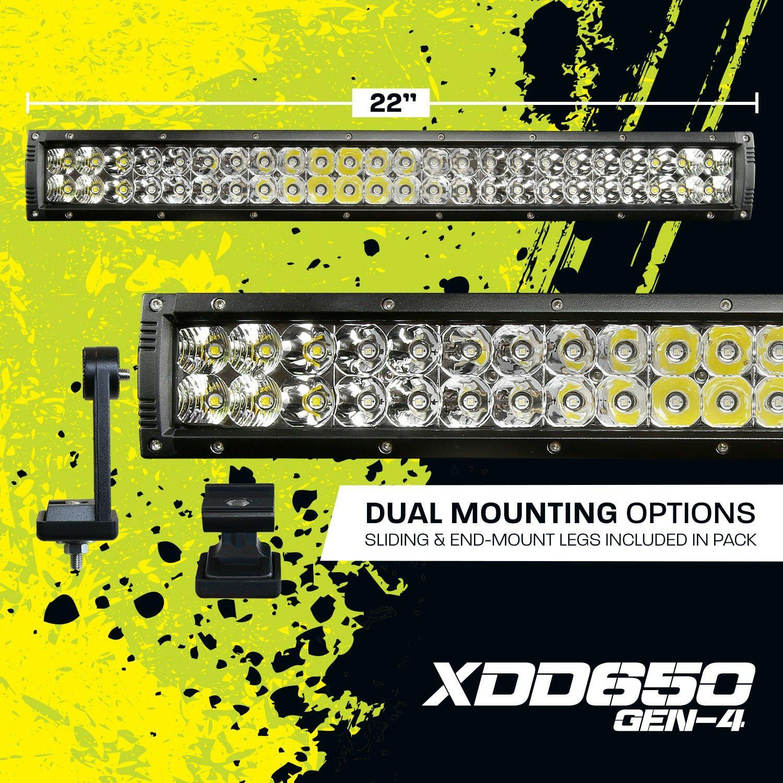 22 Inch Dual Row LED Light Bar
