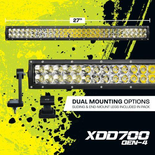 27 Inch Dual Row LED Light Bar