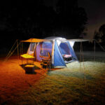 2 Bar Tri-Colour LED Camp Light Kit