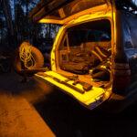 2m Stick-On Tri-Colour Flexible LED Tape Light