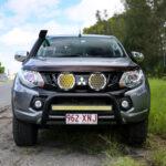 "BZR-X Series 9"" LED Driving Lights (Pair w/Harness)"